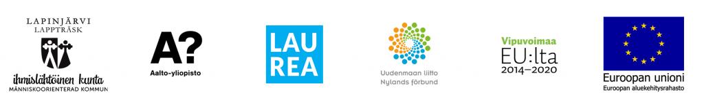 Hankkeen toteuttajien logot